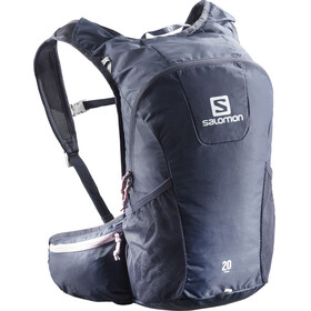 Salomon Trail 20 Backpack crown blue/pink mist
